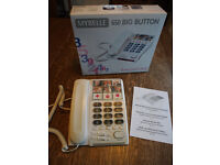 Mybelle 650 Amplified Telephone