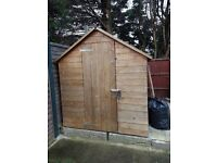 Large Wooden shed for sale.