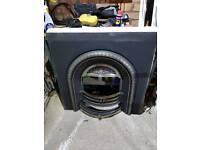 Cast iron insert