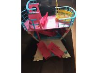Barbie cruise ship and accessories
