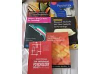 6 psychology textbooks