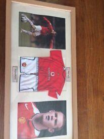 Wayne Rooney Autograph and photos