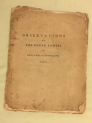 Observations Round Towers Ireland Scotland by Gough 1779 Medieval Architecture - Medieval Architecture