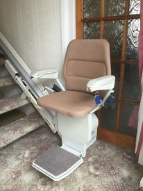 Stannah 300 Stairlift - straight.