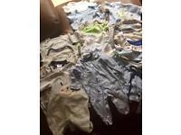 Bundle of baby clothes 34 pieces