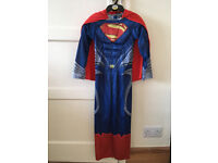 Superman Childrens Fancy Dress Custume Age 7-8 Years - Ideal for World Book Day