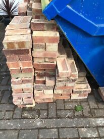 Approx 750 Reclaimed Red London Bricks