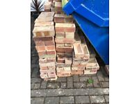 FREE Approx 750 Reclaimed Red London Bricks