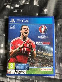 Play Station 4 PS4 Pro Evolution Soccer PES 2016