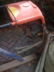 Cement mixer belle