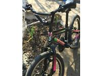 Girls BMX Style Bike - suits 5 to 9 years