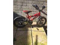 Boys Red Bike