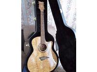 Dean acoustic electric guitar