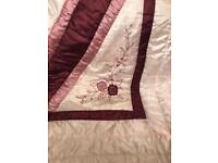 Kingsize quilted bedthrow