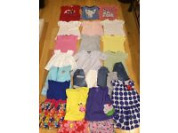 Summer bundle of girls clothes 18 - 24 months, 25 items.