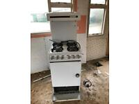 Gas cooker for mobile or caravan