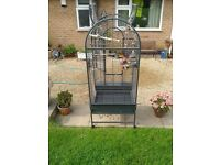 Montana Parrot Cage open top - vgc, one careful owner