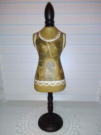 NEXT, LARGE FRENCH STYLE, CORSET MANNEQUIN, FOR DISPLAY,