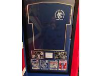 Glasgow Rangers Signed 1972 jersey
