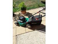 Qualcast 4 stroke petrol rotary lawn mower