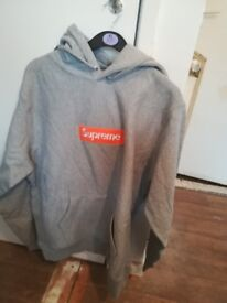 Supreme grey orange fw17 BOGO