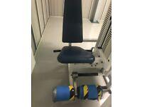 Power sport leg extension commercial resistance machine