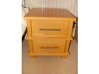 Next 2 drawer bedside chest