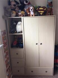 Wardrobe for child's room