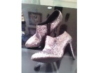 Size 6 new sparkling high heels