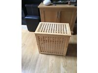 Wooden Storage box available. Heavy £10