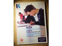 Kaplan ACCA F9 Full Study Kit 2017