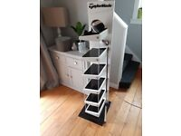 Taylormade golf shoe rack