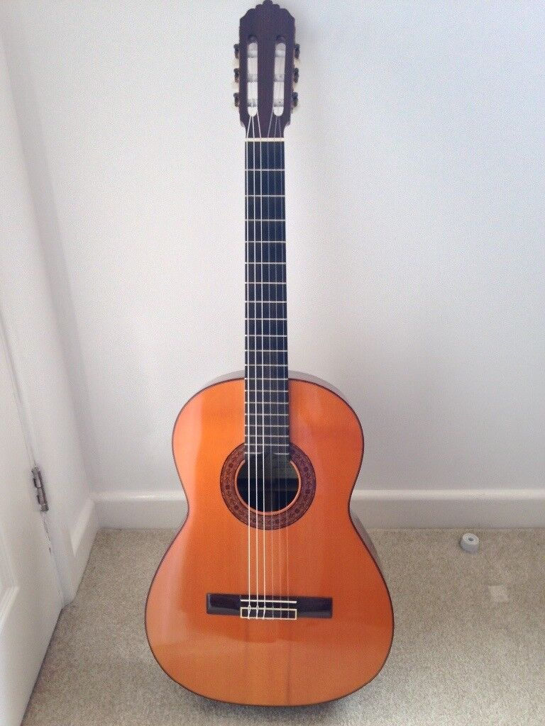 Classical Guitar with Hard Case- Mint Condition