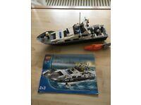 LEGO CITY 7899 Police Boat.