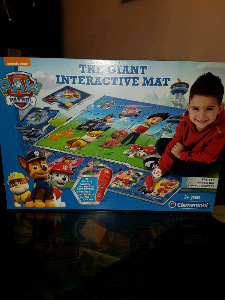 giant interactive mat