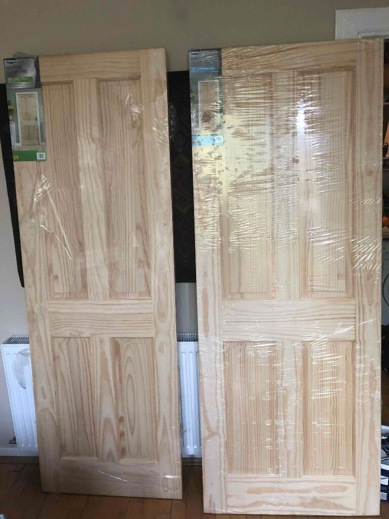 Clear pine interior Skipton doors - Reduced Price