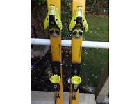 Salomon X Scream Skis 187cm with Salomon 850 Bindings