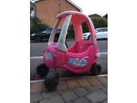 Little tikes child's car