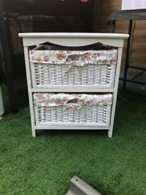 Cabinet with 2 baskets