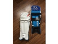 Boys' cricket pads (new)