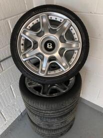 Bentley alloys x4