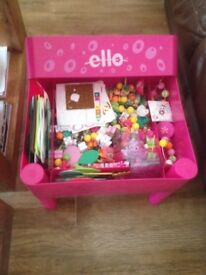 Ello creations with storage table