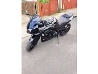 Black Kawasaki Ninja 250R £1,800