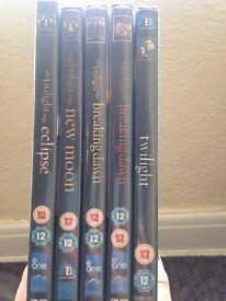 Complete twilight dvds