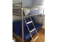 Fantastic single bed with futon/settee underneath that opens out to a double bed.
