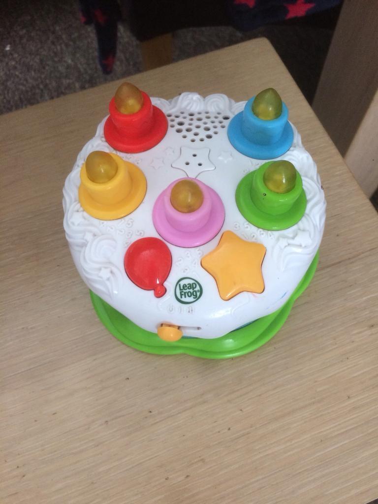 Leapfrog Birthday Cake Toy In Swindon Wiltshire Gumtree