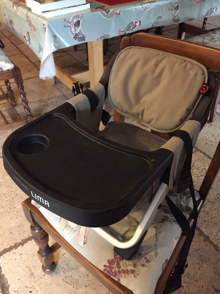 Lima Concorde Travel High Chair With Tray Table In Aylsham Norfolk