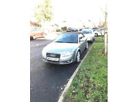 Late 2007 Audi A4 s line