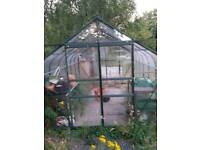 12ft x 8ft Green house