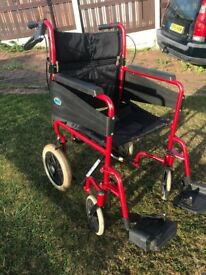 Wheelchair. 120KG Capacity. Very Clean Condition.